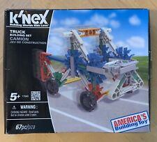 K'nex Truck Building Set #17560. 67 Pieces.