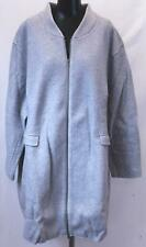 Woman Within Women's Wool Blend Duffel Coat NG8 Gray Size 32W NWT