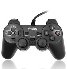 3 in 1 Dual Shock Vibration USB Gamepad Controller for PlayStation PS2 PS3 & PC