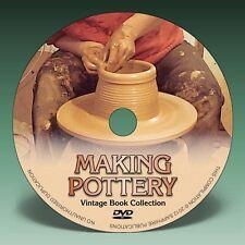 Haciendo alfarería, Porcelana & Cerámica - 24 Vintage Books en DVD.