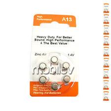 60 A13 13 PR48 R13ZA 1.4V Zinc Air Hearing Aid Battery
