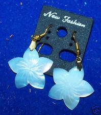 New Ear Rings Dangle Genuine Shell Flower Earrings