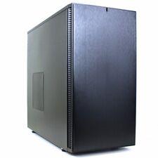 Fractal Design Define S (FD-CA-DEF-S-BK) Silent ATX Mid Tower PC Case - Black