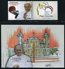 Paraguay 2015 el Papa Francisco está visita pope Francis visit religión mnh