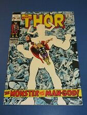 Mighty Thor #169 Silver age Origin of Galactus Key Fine Wow