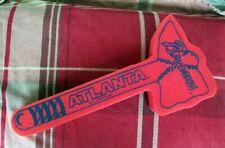 Atlanta Braves Foam Tomahawk MLB Tag Express Red Blue Baseball Memorabilia