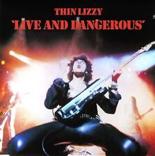 Thin Lizzy-Live And Dangerous Vinly LP Cover Sticker Or Magnet