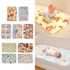 Baby Waterproof Changing Pad Infant Urine Mat Change Cover 3 Layer 60*90cm