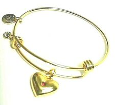 Alex and Ani Bangle Special Delivery Pink Bracelet Rafaelian Gold Retails $28