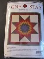Lone Star Wall Quilt Kit by Rachel T. Pellman New