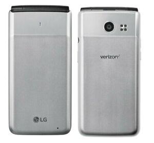 LG Exalt LTE 4G VN220 8GB Verizon Wireless Flip Phone GSM Unlocked AT&T T-Mobile