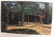 """Vintage Color Post Card """"Uncle Remus Museum"""" Eatonton, Ga., Joel Chandler Harris"""
