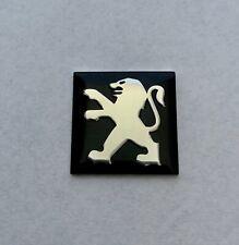 logo PEUGEOT clé voitu key car sticker Autocollant Peugeot 3D 15mm badge emblème