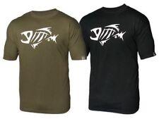 Tee-shirts et polos vert pour la pêche