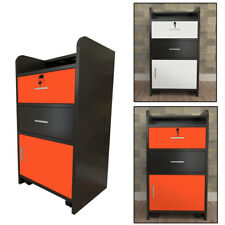 Styling Station 3-layer Rolling Beauty Salon Cabinet Trolley Salon&Spa Equipment