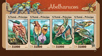 Sao Tome & Principe 2016 MNH Bee-Eaters 4v M/S Birds Stamps