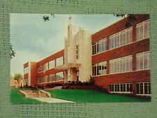 Vintage Postcard Administration & Classroom Building Benedictine Heights College