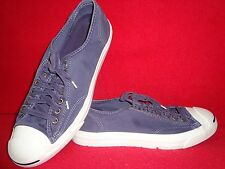 Converse Jack Purcell Unisex Shoes Purple-White Color M-Size 11.5 - W-Size 13