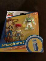 New Imaginext Toy Story Fisher-Price Buzz lightyear & Jessie Disney Pixar