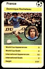 Top Trumps World Cup 1978 - Dominique Rocheteau France