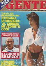 1986 05 30 - GENTE - N.22 - ANNO XXX - 30 05 1986 - STEFANIA DI MONACO