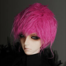"""Dollmore 1/3 BJD dollfie SD wig  (8-9)"""" Mohair Free Style Wig (Pink)"""