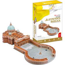 Puzzle Cubic Fun 144 Teile - Puzzle 3D - Petersdom, Rom, Vatikan (41479)