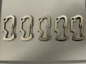 Leatherman Carabiner Accessory Clip - Lot of 5