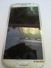 Samsung Galaxy S4 16GB White Frost (US Cellular) Smartph for parts clean ESN  #4