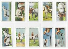 More details for lambert and butler horsemanship complete set 50 cigarette cards