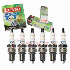 6 pc Denso 4708 Iridium TT Spark Plugs for 0000-18-8914 0000-18-B601 003 159 lb