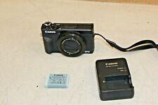 Canon PowerShot G7 X Mark III - 4K & 20.1MP Point - Black- df