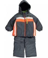 London Fog Infant Boys Grey & Orange 2pc Snowsuit Size 24M