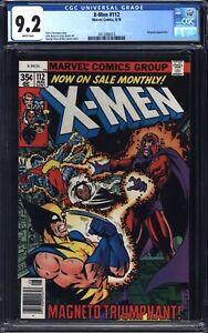 Uncanny X-Men # 112 CGC 9.2 NM- WP White Pages - 1978