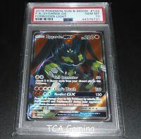 PSA 10 GEM MINT Zygarde GX 123/131 SM Forbidden Light FULL ART Pokemon Card