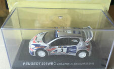 "DIE CAST "" PEUGEOT 206 WRC - 2002 M. CAMPOS  "" RALLY DEA SCALA 1/43"