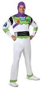 Disguise Men's Disney Pixar Toy Story, White/Green/Red/Purple, Size XL (42-46)