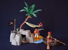 Playmobil l'ile aux pirate set 4139 en boite