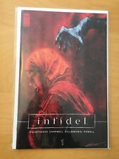 INFIDEL 1, NM- (9.0 - 9.2) 1ST PRINT, PICHETSHOTE CAMPBELL, OPTIONED MOVIE