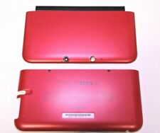 OFFICIAL NINTENDO 3DS XL HOUSING TOP, BOTTOM & COVER RED SHELL PART USA