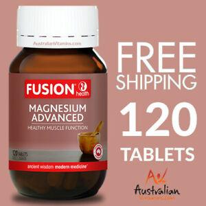 Fusion Health Magnesium Advanced 120 Tablets | Fusion Magnesium Tablets