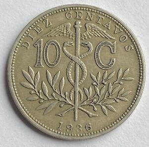 Bolivia 10 Centavos 1936 (KM#179)