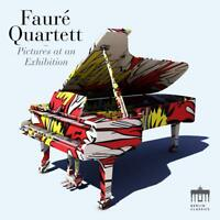FAURE QUARTETT-PICTURES AT AN EXHIBITION CD NEW+ MUSSORGSKY/RACHMANINOFF