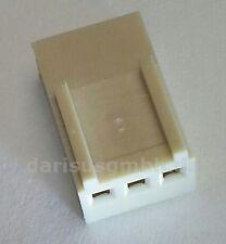 100 pcs. Platinen-Steckverbinder Leergehäuse für Crimpverbindungen RM2,54 3-pol