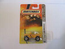 Matchbox '72 Ford Bronco All Terrain Yellow