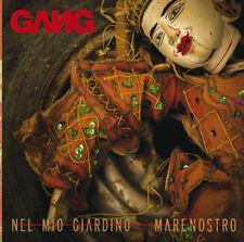 "THE GANG Nel Mio Giardino / MareNostro 7"" vinyl Red & Black Splatter RSD Lim Ed"
