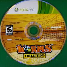 Worms Collection (Microsoft Xbox 360, 2013)  Disc Only # 14965