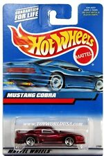 2000 Hot Wheels #121 Mustang Cobra full crd clear windows