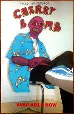 Tyler The Creator Cherry Bomb Rare Ltd Ed Poster! Ofwgkta Odd Future Flower Boy