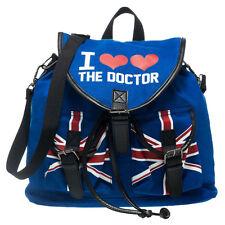 Official Science-Fiction Doctor Who I Heart the Dr. Doctor Knapsack Backpack Bag
